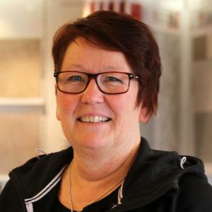 Berit Westerdahl platschef Höganäs Kakelcenter Gävle