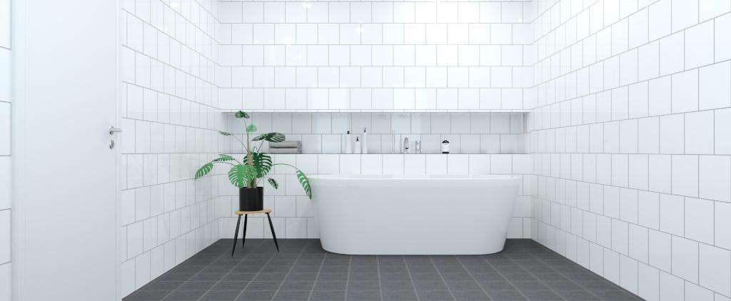 Klassiska badrummet