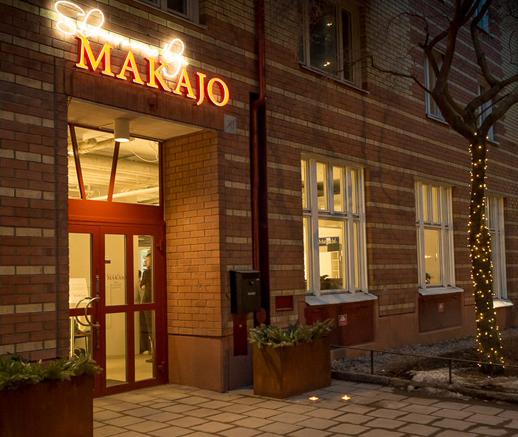 Makajo Showroom Höganäs Kakel för arkitekter stockholm
